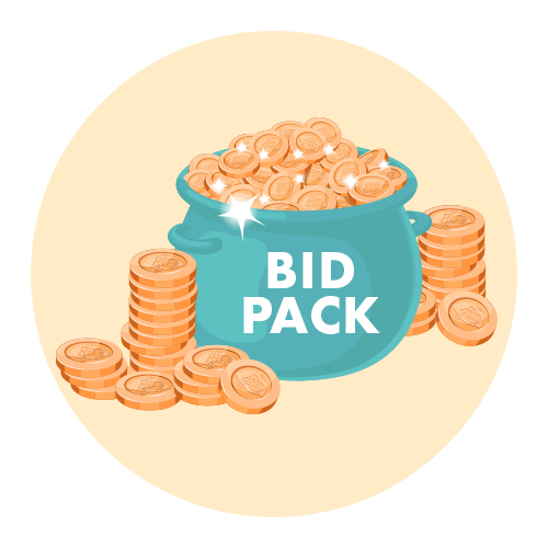 Bid pack purchase